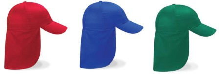 dfc3355c Personalise this Beechfield Legionnaire Cap with your child's name. Ideal  for girl or boy.