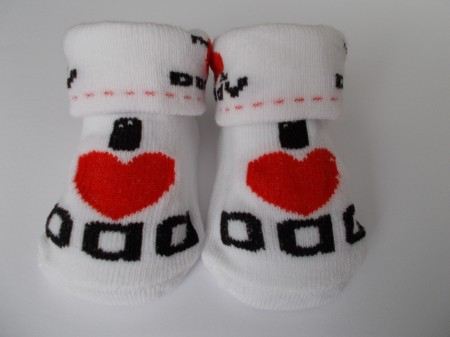 Daddy Baby Socks I love DAD