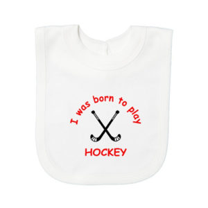 Field Hockey Baby Bibs