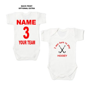Field Hockey Baby Bodysuits