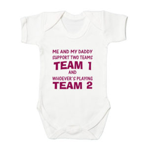 Football Baby Bodysuits