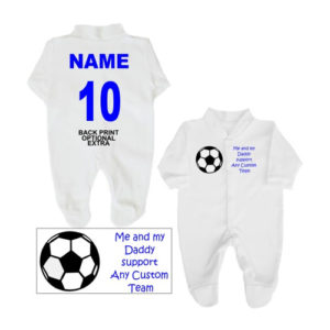 Football Babygrows