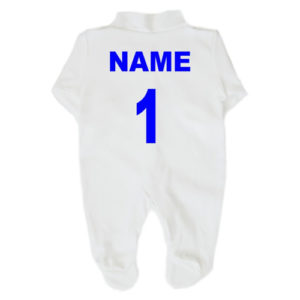 General Football Babygrows