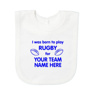 Rugby Baby Bibs
