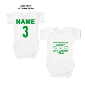 Rugby Baby Bodysuits