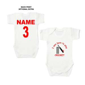 Sport Themed Baby Bodysuits