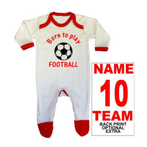 Sport Themed Baby Rompersuits